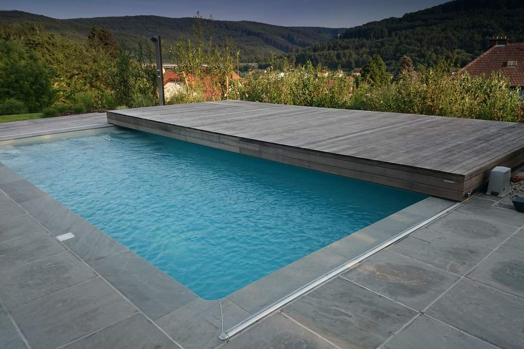 Video poolwalk pool cover Austria 1